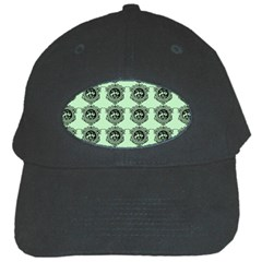 Three Women Green Black Cap
