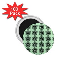Three Women Green 1 75  Magnets (100 Pack)