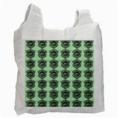 Three Women Green Recycle Bag (two Side)