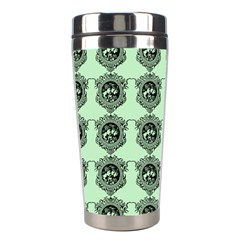 Three Women Green Stainless Steel Travel Tumblers