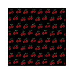 Cherries Black Acrylic Tangram Puzzle (6  X 6 )