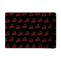 Cherries Black Apple Ipad Mini Flip Case