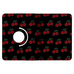 Cherries Black Kindle Fire Hdx Flip 360 Case