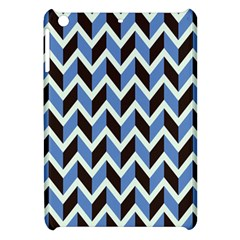 Chevron Blue Brown Apple Ipad Mini Hardshell Case