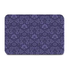 Damask Purple Plate Mats