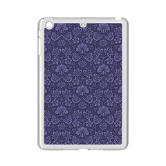 Damask Purple Ipad Mini 2 Enamel Coated Cases
