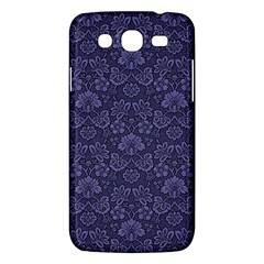 Damask Purple Samsung Galaxy Mega 5 8 I9152 Hardshell Case