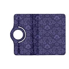 Damask Purple Kindle Fire Hd (2013) Flip 360 Case