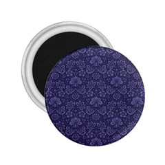 Damask Purple 2 25  Magnets