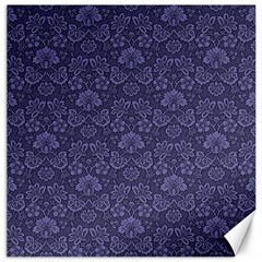 Damask Purple Canvas 20  X 20