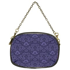 Damask Purple Chain Purses (one Side)