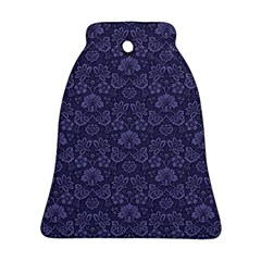 Damask Purple Ornament (bell)