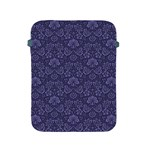 Damask Purple Apple iPad 2/3/4 Protective Soft Cases Front