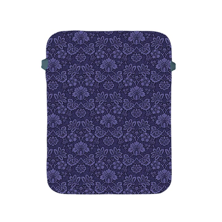 Damask Purple Apple iPad 2/3/4 Protective Soft Cases