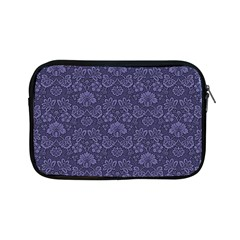 Damask Purple Apple Ipad Mini Zipper Cases