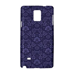 Damask Purple Samsung Galaxy Note 4 Hardshell Case