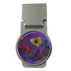 Flowers Money Clips (round)