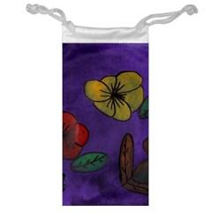 Flowers Jewelry Bag