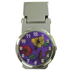 Flowers Money Clip Watches