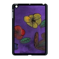 Flowers Apple Ipad Mini Case (black)