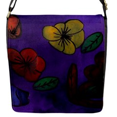 Flowers Flap Messenger Bag (s)