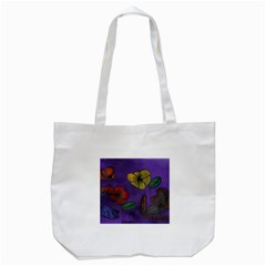 Flowers Tote Bag (white)