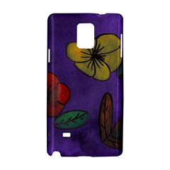 Flowers Samsung Galaxy Note 4 Hardshell Case