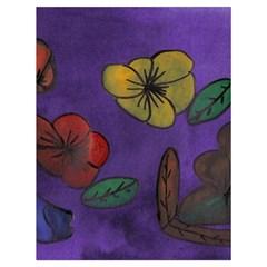 Flowers Drawstring Bag (large)