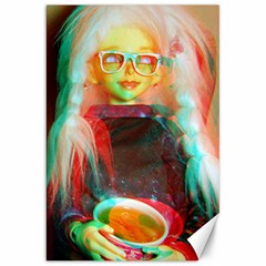 Eating Lunch 3d Canvas 20  X 30
