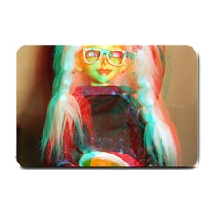 Eating Lunch 3d Small Doormat