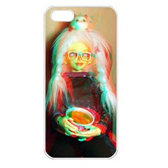 Eating Lunch 3d Apple Iphone 5 Seamless Case (white)