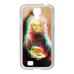 Eating Lunch 3d Samsung Galaxy S4 I9500/ I9505 Case (white)