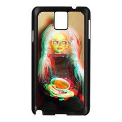 Eating Lunch 3d Samsung Galaxy Note 3 N9005 Case (black)
