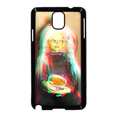 Eating Lunch 3d Samsung Galaxy Note 3 Neo Hardshell Case (black)