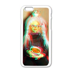 Eating Lunch 3d Apple Iphone 6/6s White Enamel Case