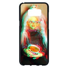 Eating Lunch 3d Samsung Galaxy S8 Plus Black Seamless Case