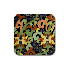 Abstract 2920824 960 720 Rubber Square Coaster (4 Pack)