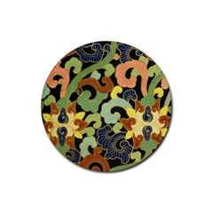 Abstract 2920824 960 720 Rubber Coaster (round)