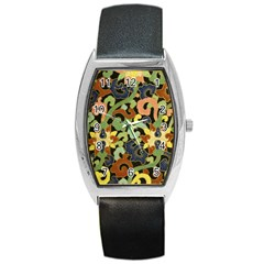 Abstract 2920824 960 720 Barrel Style Metal Watch