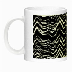 Dark Abstract Pattern Night Luminous Mugs