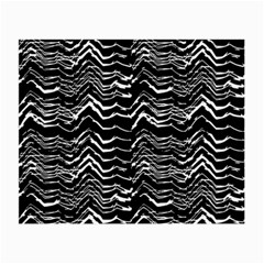 Dark Abstract Pattern Small Glasses Cloth (2 Side)