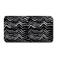 Dark Abstract Pattern Medium Bar Mats