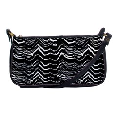 Dark Abstract Pattern Shoulder Clutch Bags