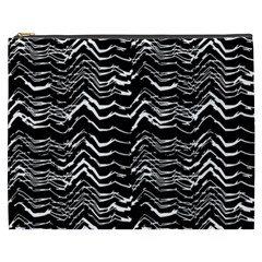 Dark Abstract Pattern Cosmetic Bag (xxxl)