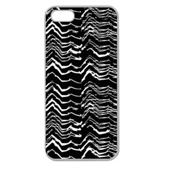 Dark Abstract Pattern Apple Seamless Iphone 5 Case (clear)
