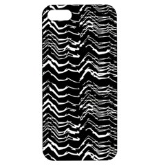 Dark Abstract Pattern Apple Iphone 5 Hardshell Case With Stand