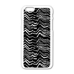 Dark Abstract Pattern Apple Iphone 6/6s White Enamel Case