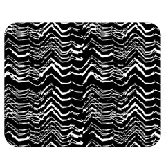 Dark Abstract Pattern Double Sided Flano Blanket (medium)