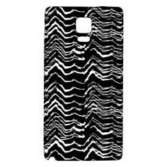 Dark Abstract Pattern Galaxy Note 4 Back Case