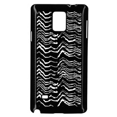 Dark Abstract Pattern Samsung Galaxy Note 4 Case (black)